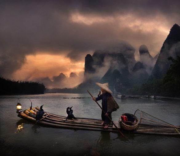 رودخانه لی، چین