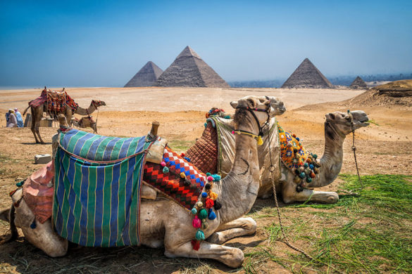 مکانهای باورنکردنی - مجموعه اهرام جیزه، مصر